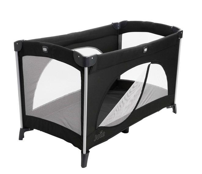 lit parapluie allura 120 joie black momentbebe. Black Bedroom Furniture Sets. Home Design Ideas