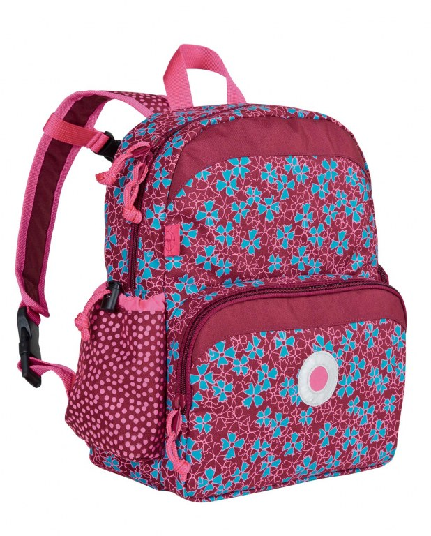 Mini backpack blossy pink lassig momentbebe