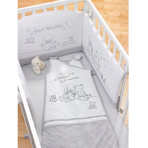 gigoteuse naissance lapin blanc les chatounets momentbebe. Black Bedroom Furniture Sets. Home Design Ideas