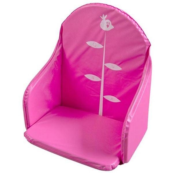 coussin de chaise haute pvc fushia quax magasin en ligne il t b b. Black Bedroom Furniture Sets. Home Design Ideas