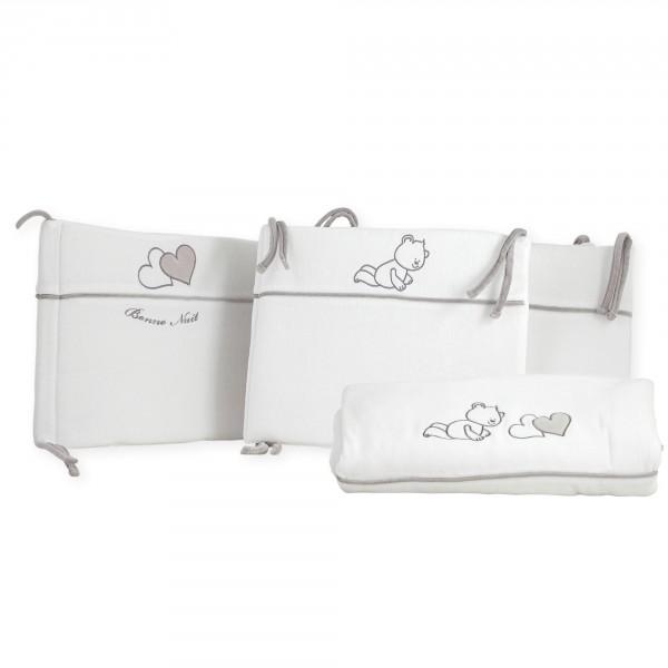 linge lit berceau tour de lit edredon bonne nuit trois kilos sept magasin en ligne il t b b. Black Bedroom Furniture Sets. Home Design Ideas