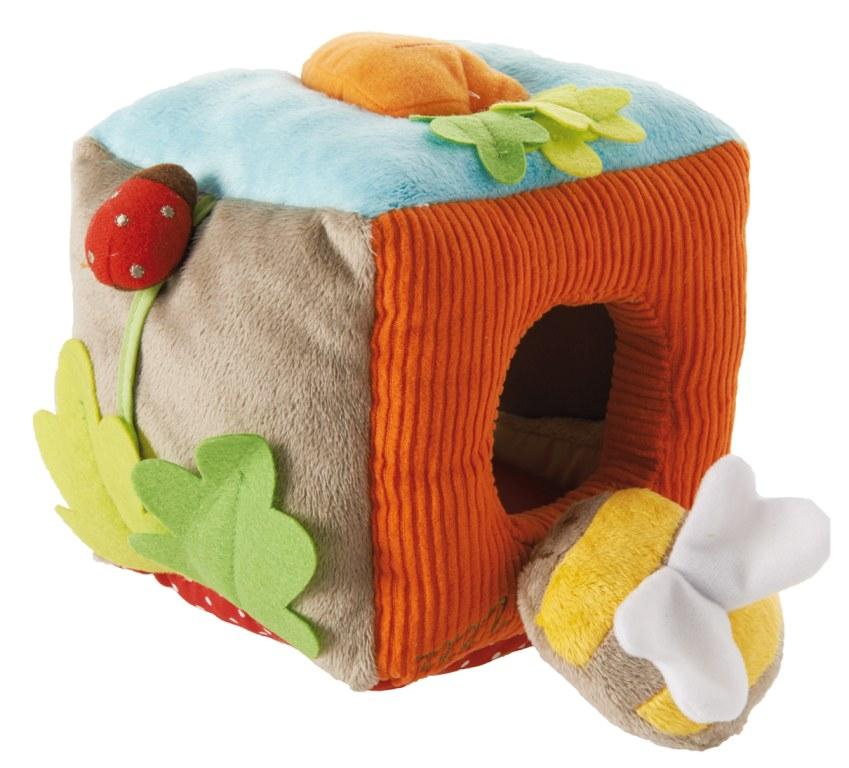cube sonore mon jardin enchante latitude momentbebe. Black Bedroom Furniture Sets. Home Design Ideas