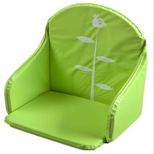 coussin de chaise haute pvc vert quax magasin en ligne il t b b. Black Bedroom Furniture Sets. Home Design Ideas