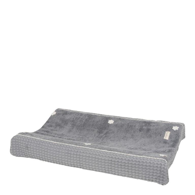 housse matelas a langer amsterdam steel grey koeka momentbebe. Black Bedroom Furniture Sets. Home Design Ideas