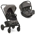 DUO CHROME Foggy Grey + COSY I-GEMM I-SIZE Foggy grey JOIE BABY