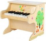 PIANO PETIT RENARD EN BOIS LEGLER