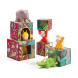 TOPANIJUNGLE 5 CUBES ET ANIMAUX DJECO