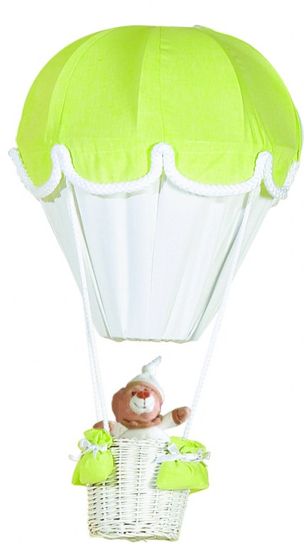 lustre montgolfiere anis blanc domiva momentbebe. Black Bedroom Furniture Sets. Home Design Ideas