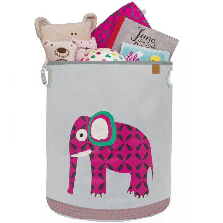 panier a jouets wildlife l phant l ssig momentbebe. Black Bedroom Furniture Sets. Home Design Ideas