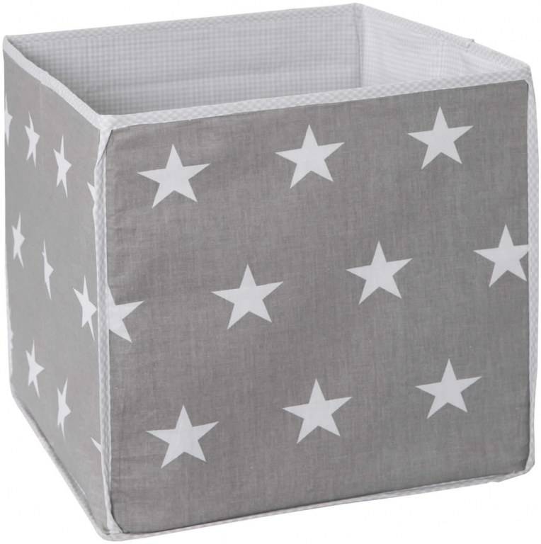 cube de rangement tissu little stars roba momentbebe. Black Bedroom Furniture Sets. Home Design Ideas