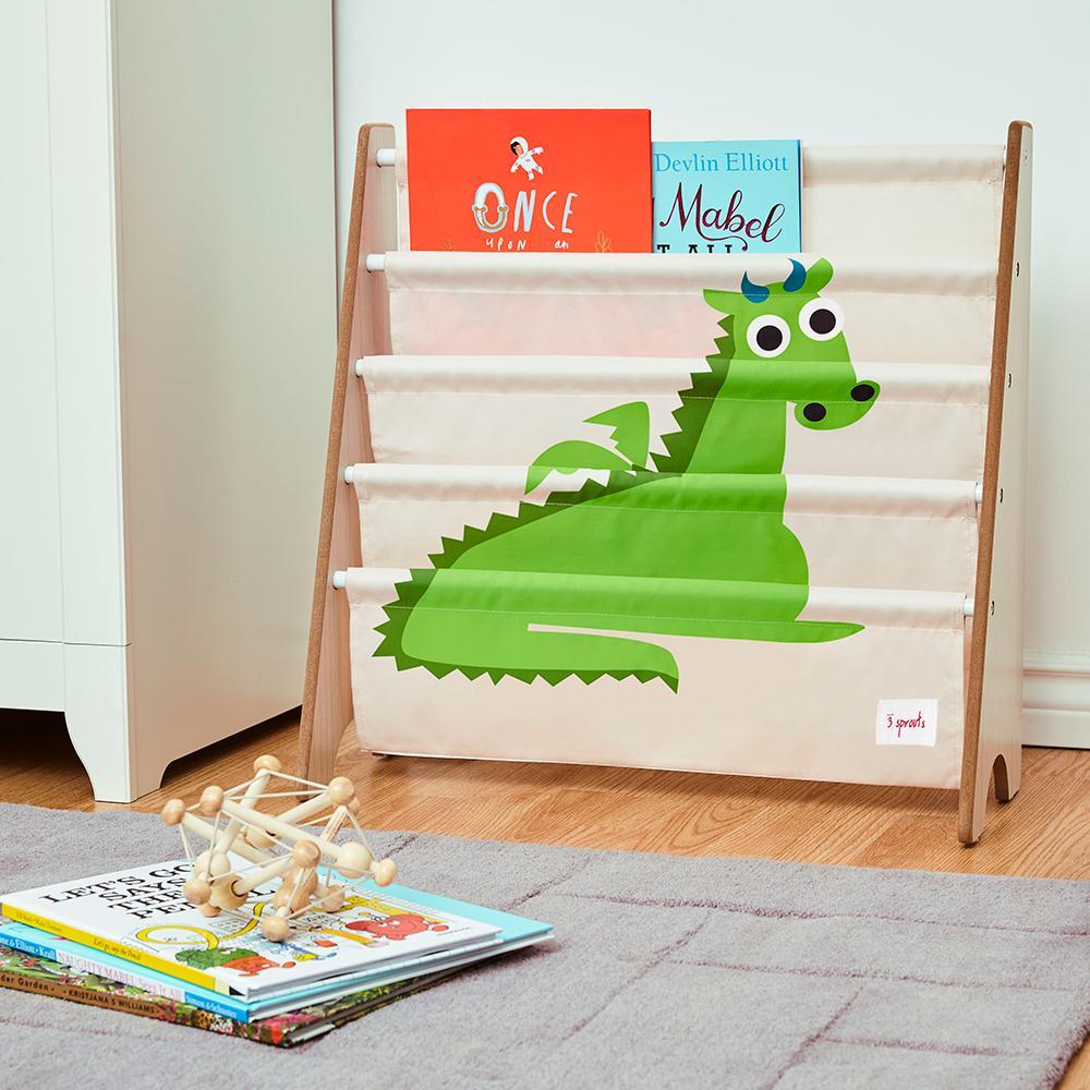 etagere de rangement pour livres dragon 3 sprouts momentbebe. Black Bedroom Furniture Sets. Home Design Ideas