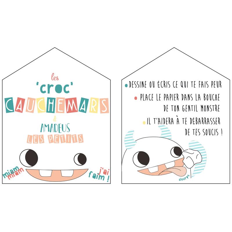 les croc 39 cauchemars monstre daisy amadeus les petits momentbebe. Black Bedroom Furniture Sets. Home Design Ideas