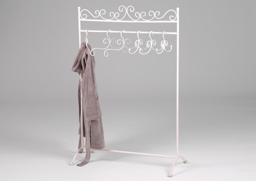portant b b 6 cintres en metal amadeus les petits momentbebe. Black Bedroom Furniture Sets. Home Design Ideas
