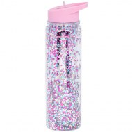 GOURDE PAILLETTES ROSE 500ml LITTLE LOVELY COMPANY
