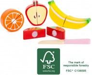 ASSORTIMENT DE FRUITS EN BOIS LEGLER