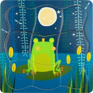 PUZZLE A ETAGES ROI GRENOUILLE SMALL FOOT