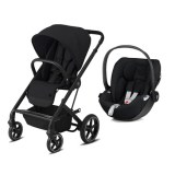 DUO POUSSETTE 4 ROUES BALIOS S Lux BLK + CLOUD Z DEEP BLACK CYBEX