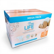 COUCHES MINI 3-6kg FREE LIFE BEBE CASH (112 couches) T2