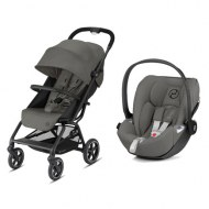 POUSSETTE DUO EEZY S+ 2 + CLOUD Z SOHO GREY CYBEX