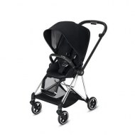 POUSSETTE MIOS DEEP BLACK CHASSIS CHROME BLACK CYBEX