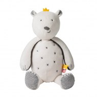 PELUCHE SAM L'OURS TIMELESS SMALL 25cm NOUKIES