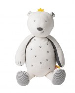 PELUCHE SAM L'OURS TIMELESS MEDIUM 40cm NOUKIES
