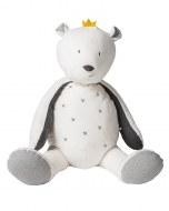 PELUCHE SAM L'OURS TIMELESS LARGE 80cm NOUKIES