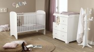 CHAMBRE BÉBÉ SWEETY DOMIVA (Blanc/Gris ou Taupe)