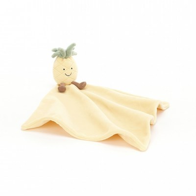 DOUDOU COUVERTURE ANANAS AMUSEABLE SOOTHER JELLYCAT