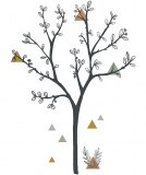STICKERS XL ARBRE TRIANGLES LILIPINSO