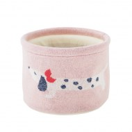 BEAUTY CASE COTON BIO AMY ET ZOÉ FANCY DOGS NOUKIES