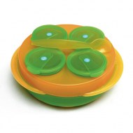BABY SNACK TOUT EN 1 REMOND ORANGE/VERT