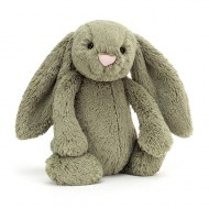 PELUCHE LAPIN BASHFUL BUNNY FERN medium JELLYCAT
