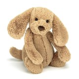 PELUCHE BASHFUL TOFFEE CHIEN medium 31cm JELLYCAT