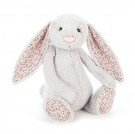 PELUCHE LAPIN BASHFUL BUNNY BLOSSOM SILVER LARGE JELLYCAT