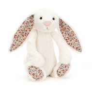 PELUCHE LAPIN BASHFUL BUNNY BLOSSOM CREAM LARGE JELLYCAT