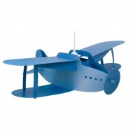 SUSPENSION AVION AIRPLANE BLEU R&M COUDERT