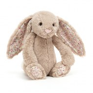 PELUCHE LAPIN BASHFUL BUNNY BLOSSOM BEA BEIGE small JELLYCAT