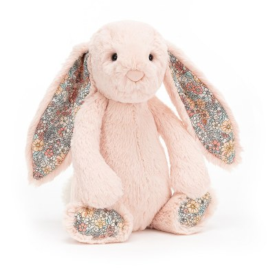 PELUCHE LAPIN BASHFUL BUNNY BLOSSOM BLUSH MEDIUM JELLYCAT