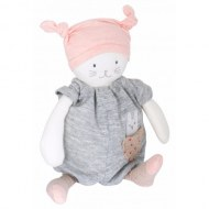 PELUCHE CHAT MUSICAL MOON LES PETITS DODOS MOULIN ROTY