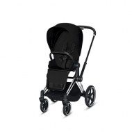 POUSSETTE PRIAM PLATINUM CHROME BLACK STARDUST BLACK PLUS CYBEX