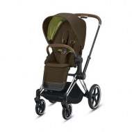 POUSSETTE PRIAM PLATINUM CHROME KHAKI GREEN CYBEX
