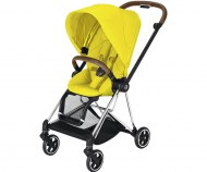 POUSSETTE MIOS PLUS MUSTARD YELLOW CHASSIS CHROME CYBEX