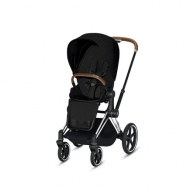 POUSSETTE PRIAM PLATINUM CHROME STARDUST BLACK PLUS CYBEX