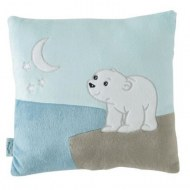 COUSSIN DOUDOU FLOCON L'OURSON DOMIVA