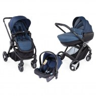 TRIO POUSSETTE BEST FRIEND OXFORD CHICCO