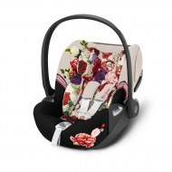 CLOUD Z ALLONGEABLE AVEC SENSORSAFE PLATINUM SPRING BLOSSOM LIGHT CYBEX