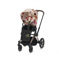 PACK SIEGE PRIAM PLATINUM SPRING BLOSSOM LIGHT CYBEX