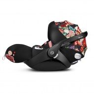 CLOUD Z ALLONGEABLE PLATINUM SPRING BLOSSOM DARK CYBEX