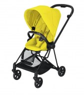 POUSSETTE MIOS MUSTARD YELLOW CHASSIS MATT BLACK CYBEX